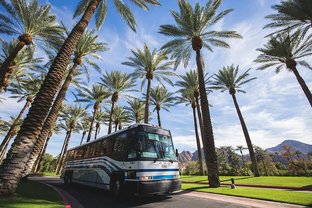 Shuttle   Coachella Camping